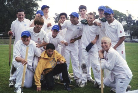 Photo of Junior Cricket Community Day staff